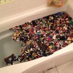 レゴ風呂ック -レゴブロックを風呂で洗うコツ-