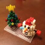 nanoblock®(ナノブロック)でMerry Christmas!
