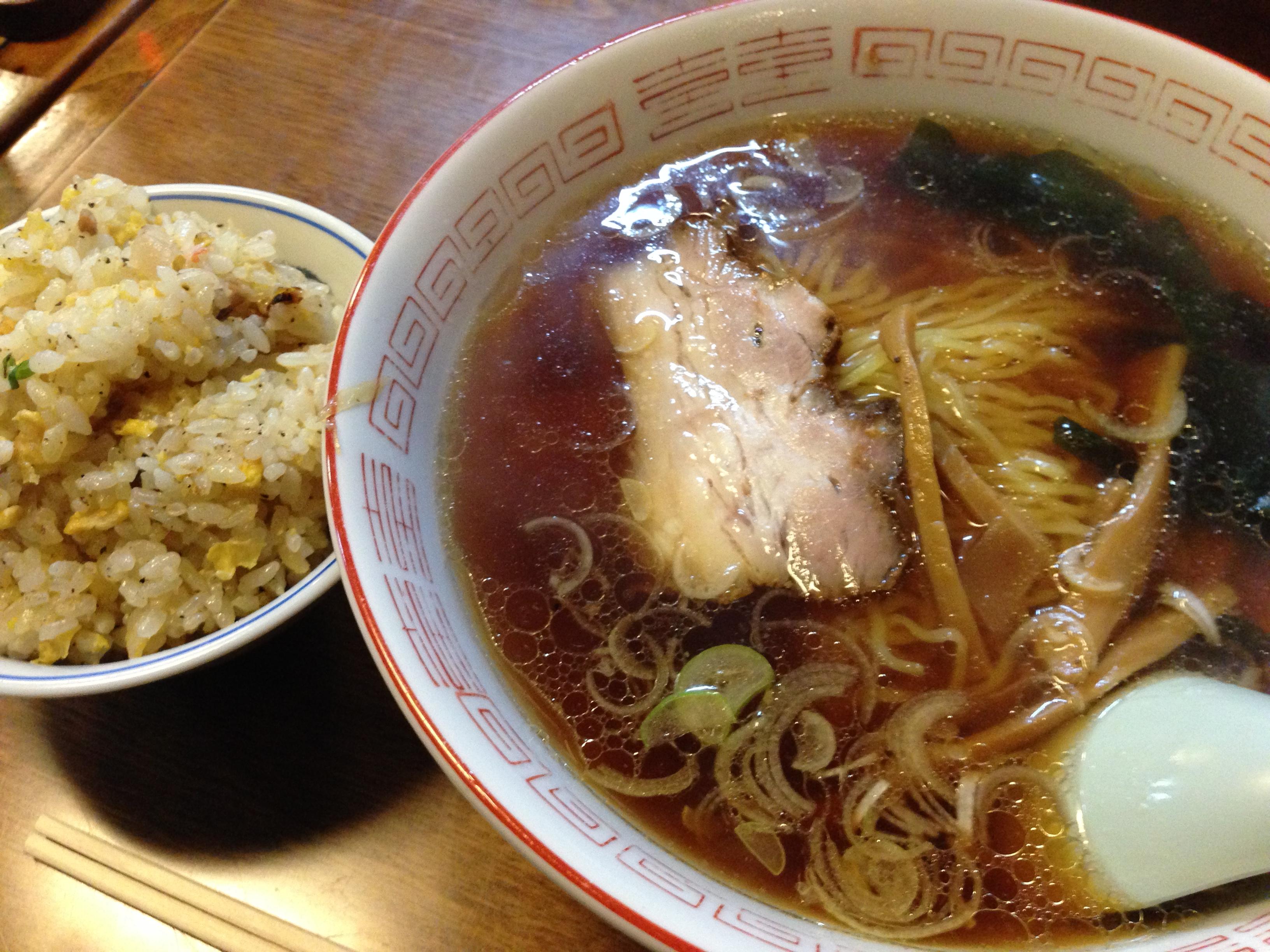 いわゆるひとつの醤油ラーメン -桂(かつら)@溜池山王/赤坂