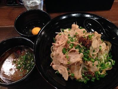 辛い。うまい。「麺や すする まる弐」の肉辛つけ麺 @学芸大学