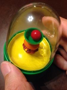 モスバーガーでもらったおもちゃがおもしろい
