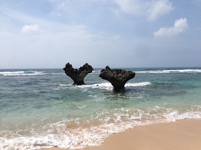 【嵐のJAL CM】沖縄の「ハートロック」は本当にハートなのか