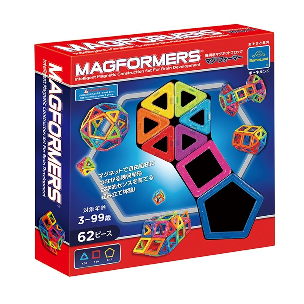 「マグフォーマー(ボーネルンド)」は何歳でも楽しめるステキ知育玩具