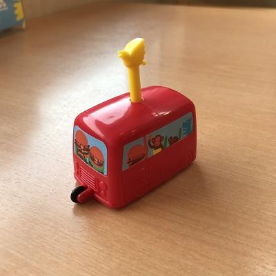 【モスバーガー】ワイワイセットのおもちゃ(トイ)が素敵